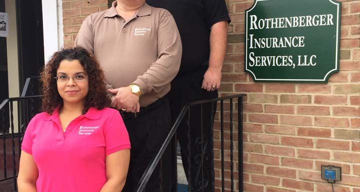 Ron Rothenberger, Sean Wyandt and Iris Pantoja are all insurance agents at Rothenberger Insurance Services.